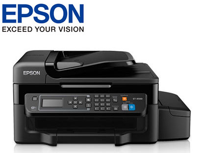 Epson WorkForce ET-4550 printer cartridge supplies