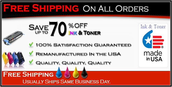 Save 70% on Ink and laser toner Cartridge