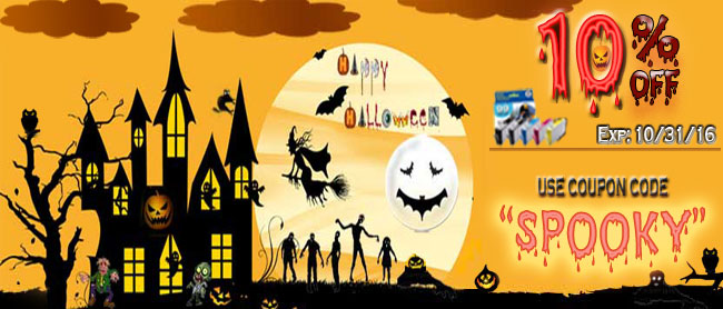 Happy Halloween Save up to 70% off Ink and laser toner Cartridge