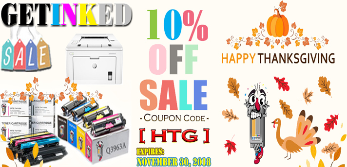 ThanksGiving Sale Printer Ink laser toner Get Additional 10% OFF