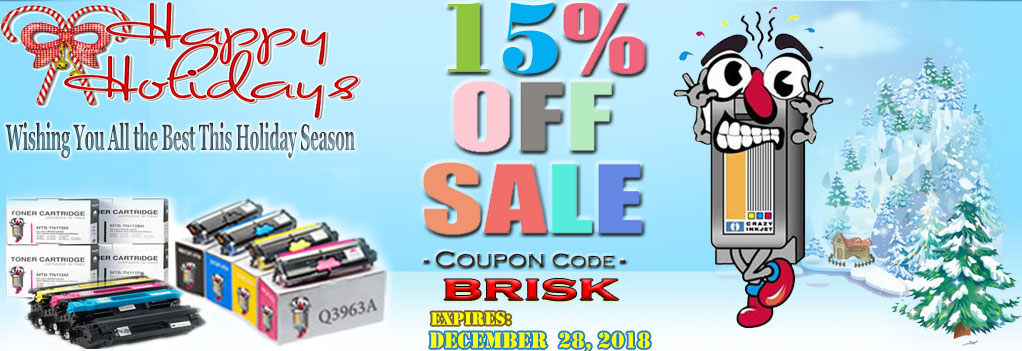 Holiday Sale Printer Ink laser toner Get Additional 10% OFF