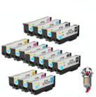 12 Piece Bulk Set Remanufactured Epson T277XL Ink Cartridges