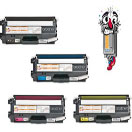 4 Piece Bulk Set Premium Compatible Brother TN315 Toner Cartridges
