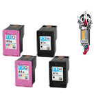 4 Piece Bulk Set Remanufactured Hewlett Packard HP61XL Ink Cartridges