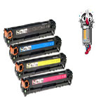 4 Piece Bulk Set Premium Compatible Hewlett Packard HP650A Laser Toner Cartridges