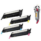 4 Piece Bulk Set Samsung CLT-406S Laser Toner Cartridges