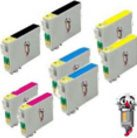 8 Piece Bulk Set Epson T127 Ink Cartridges