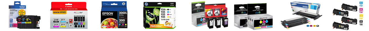 canon printer ink and laser toner cartridges